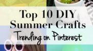 Trending Summer DIY Crafts on Pinterest