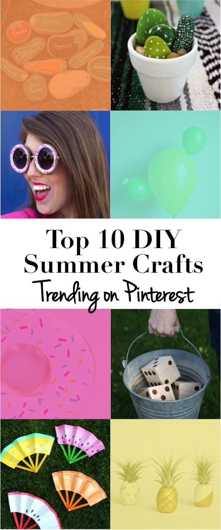 Top 10 DIY Summer Crafts Trending on Pinterest