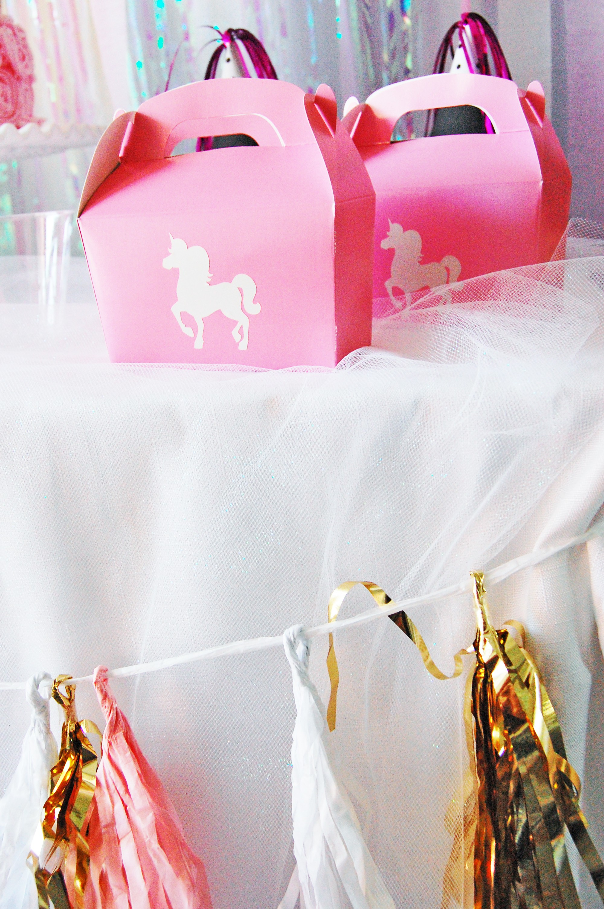 Pink And Gold Unicorn Birthday Party By The Party Girl