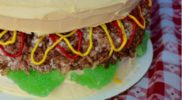 Hamburger Cake Recipe (Easy Boxed Cake Mix Recipe)