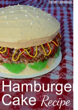 Hamburger Cake Recipe