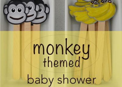 Monkey Themed Baby Shower thumbnail
