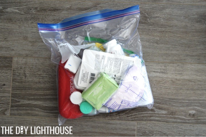 bathroom-supplies-for-DIY Disaster Backpack: 72 Hour Backpack Kit for Emergency Preparedness