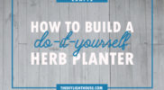 DIY Herb Planter How-To