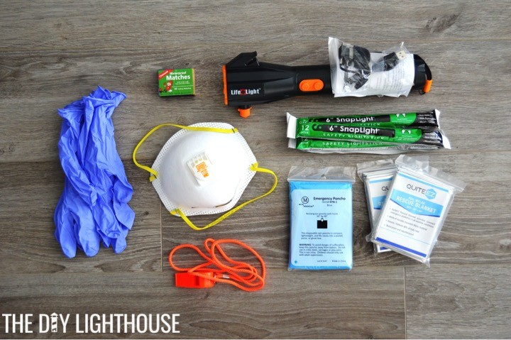 emergency-supplies-for-DIY Disaster Backpack: 72 Hour Backpack Kit for Emergency Preparedness