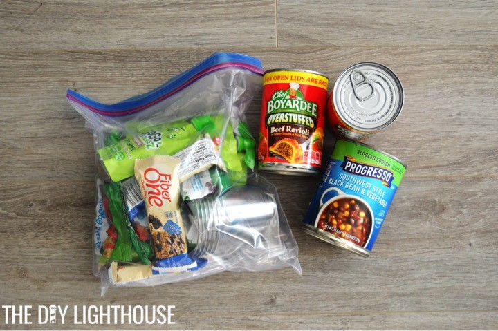 food-supplies-for-DIY Disaster Backpack: 72 Hour Backpack Kit for Emergency Preparedness