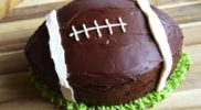 DIY Football Cake: Super Bowl Party Food Idea