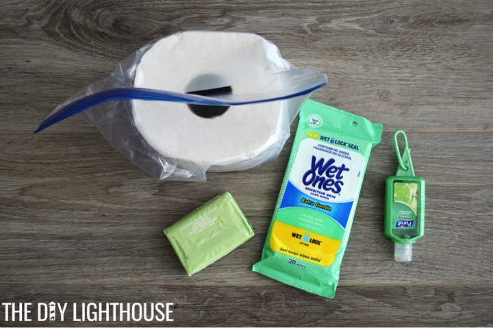 sanitation-supplies-for-DIY Disaster Backpack: 72 Hour Backpack Kit for Emergency Preparedness