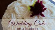 DIY Wedding Cake on a Budget