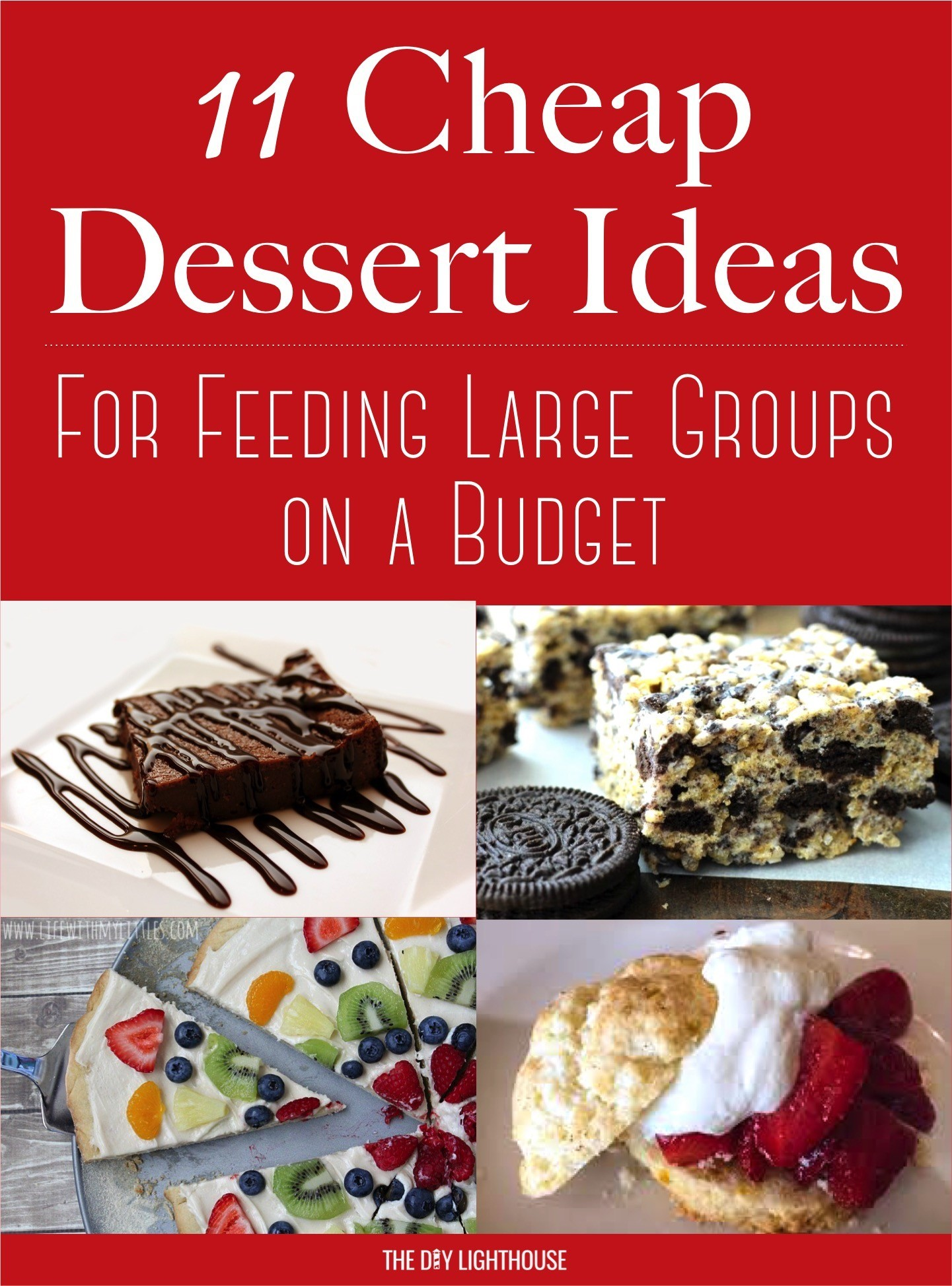 11 Cheap Dessert Ideas For Feeding A Large Group On Budget