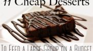 Cheap Dessert Ideas to Feed a Big Group on a Budget