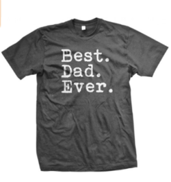Gifts for Him | Gift ideas for a man | present ideas for a father | best dad ever t-shirt to buy