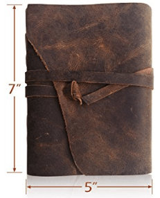 Gifts for him | Manly man gift idea list | Christmas gift or Fathers Day gift ideas for husband or dad | Leather journal
