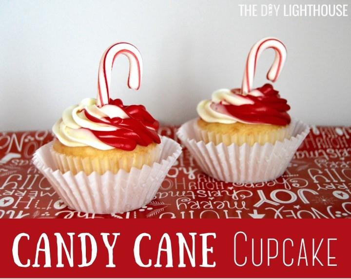 candy-cane-cupcake | Christmas cupcake ideas