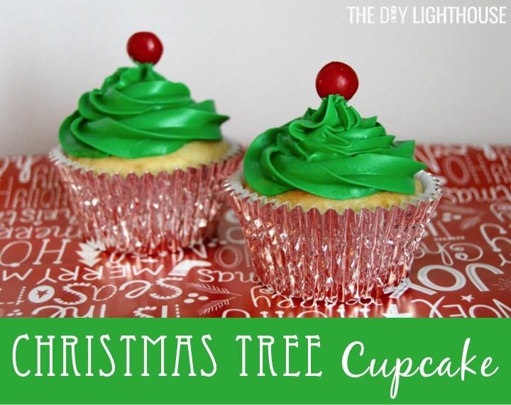 christmas-tree-cupcake | Christmas cupcake ideas