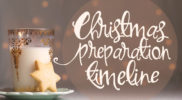 Christmas Preparation Timeline [by Laurel Smith]