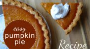 Easy Pumpkin Pie: Amber's Recipe