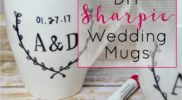 DIY Sharpie Mugs – Wedding Gift Idea
