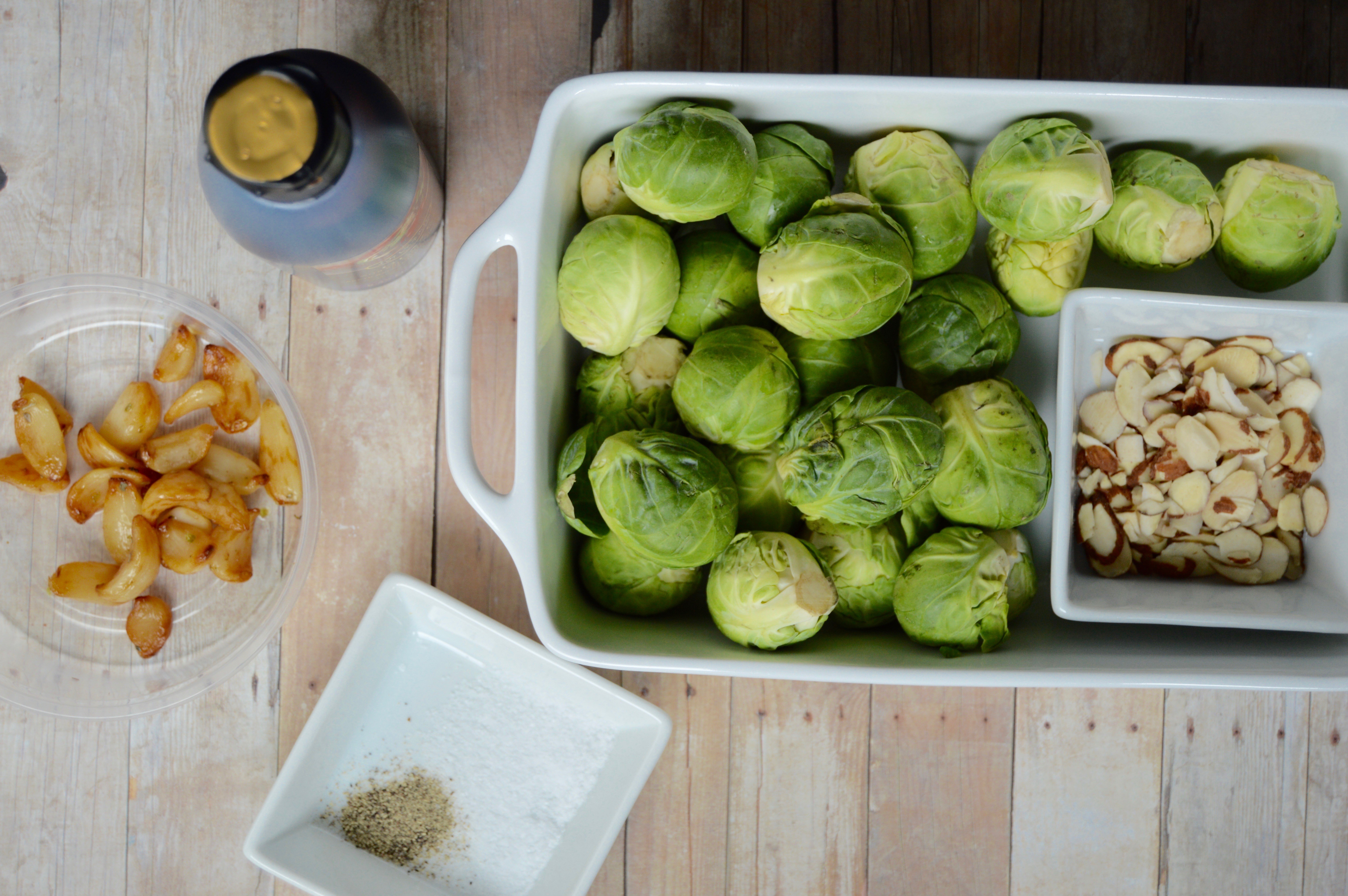 Brussels sprouts recipe for a tasty, savory dish. Healthy vegetable side dish with balsamic vinegar glaze. Ingredients + directions for pan frying.