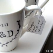 Hand wash tag DIY Sharpie mug