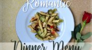 15 Minute Romantic Dinner Menu for a Date-Night-In