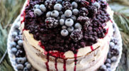 Naked Cake with Berry Compote Recipe and How-To