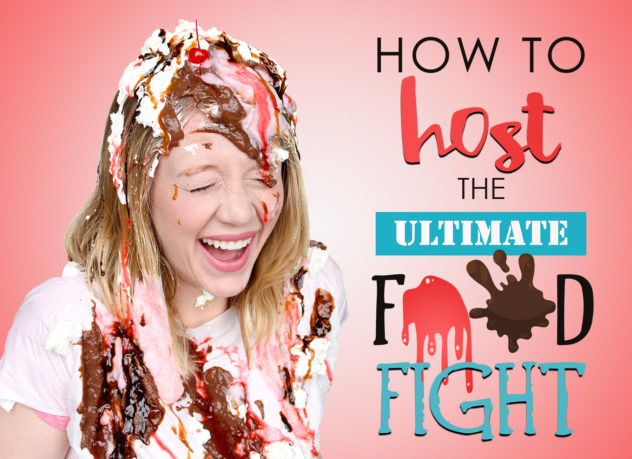 how to host a food fight
