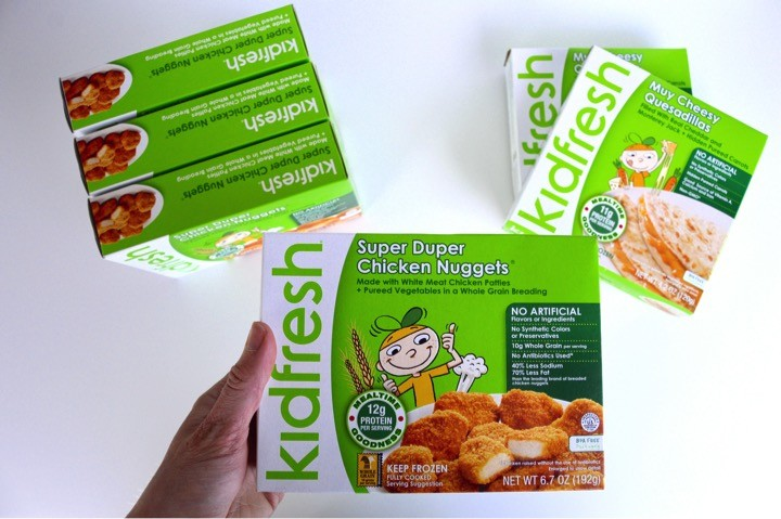 Kidfresh Frozen Meals | A babysitter essential for a meal with easy preparation and clean up.
