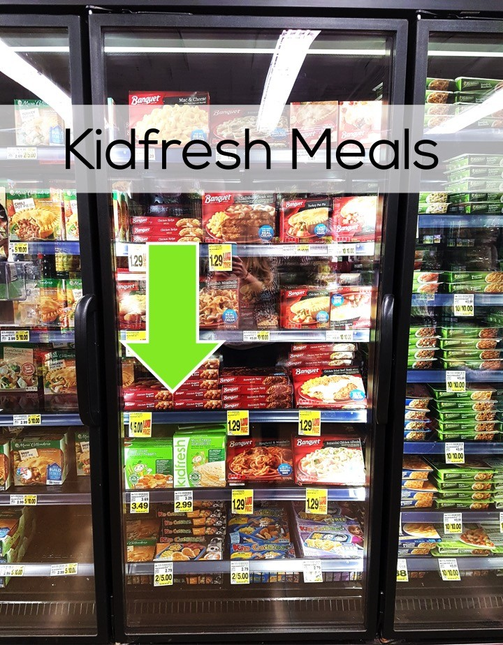Kidfresh Frozen Meals in Family Meals frozen section at QFC.