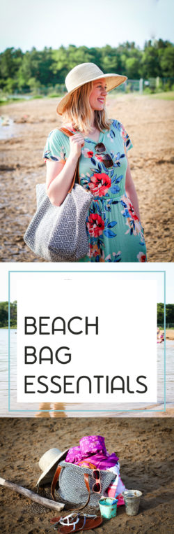 Family-Friendly Beach Bag Essentials for Summer Days at the Lake or Beach! Protection, comfort, and fun are all essential to a great day in and out of the water with kids. It all starts with a beach bag and ends with a tired group and lots of memories. | bag, beach, ball, book, bucket, buckets, children, clothes, family, floppy hat, ideas, kid, kids, lake, life jacket, ocean, parenting, parents, pool, puddle jumper #JumpIntoSummer #CollectiveBias #ad