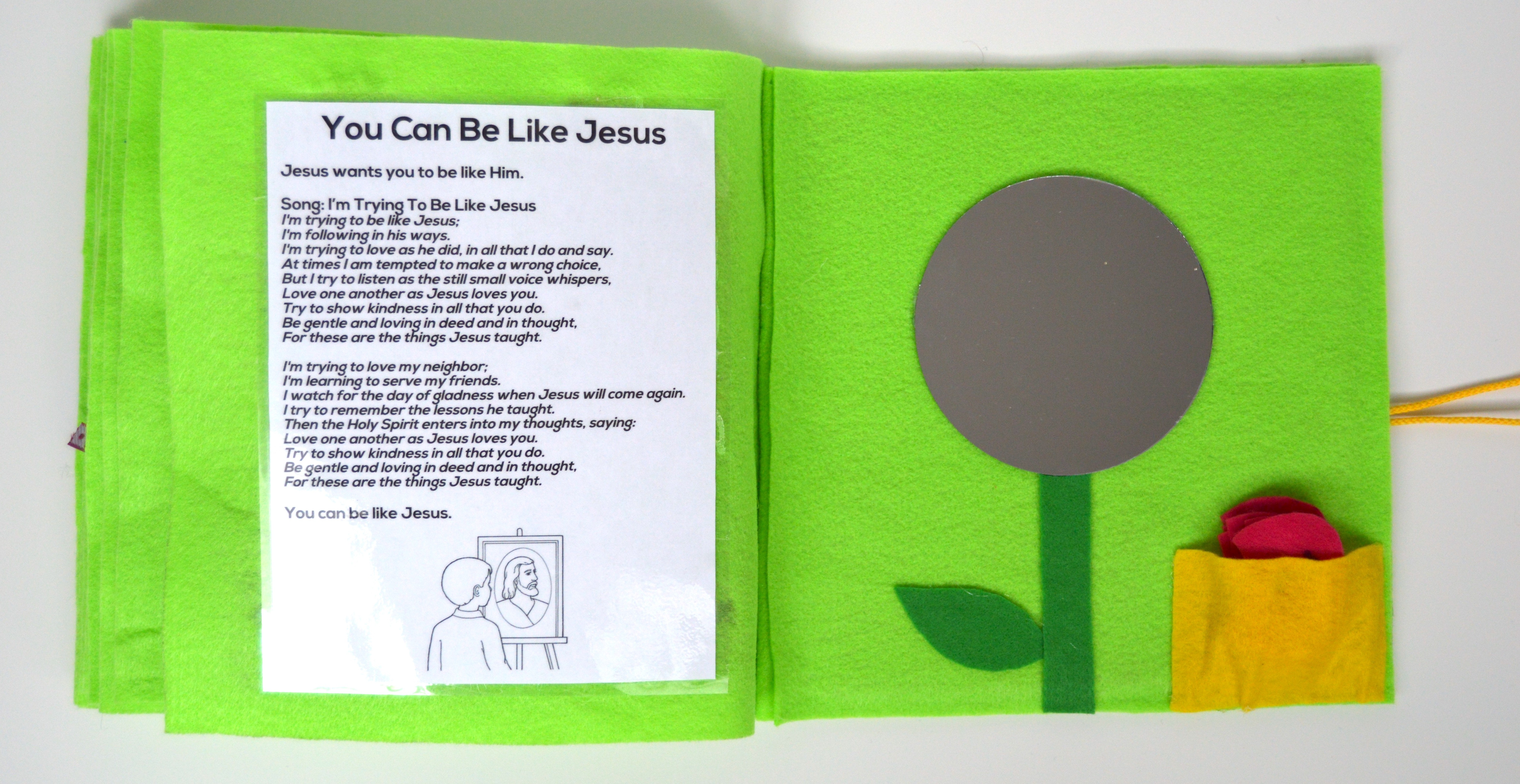 no sew jesus quiet book for church the diy lighthouse