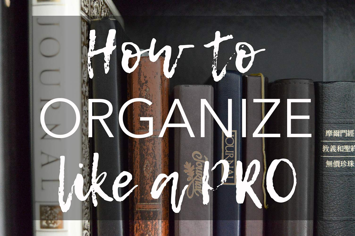Tips for how to purge and organize your home like a pro. Organizing steps: categorizing and finding homes for things. 5 home organizing rules to live by.