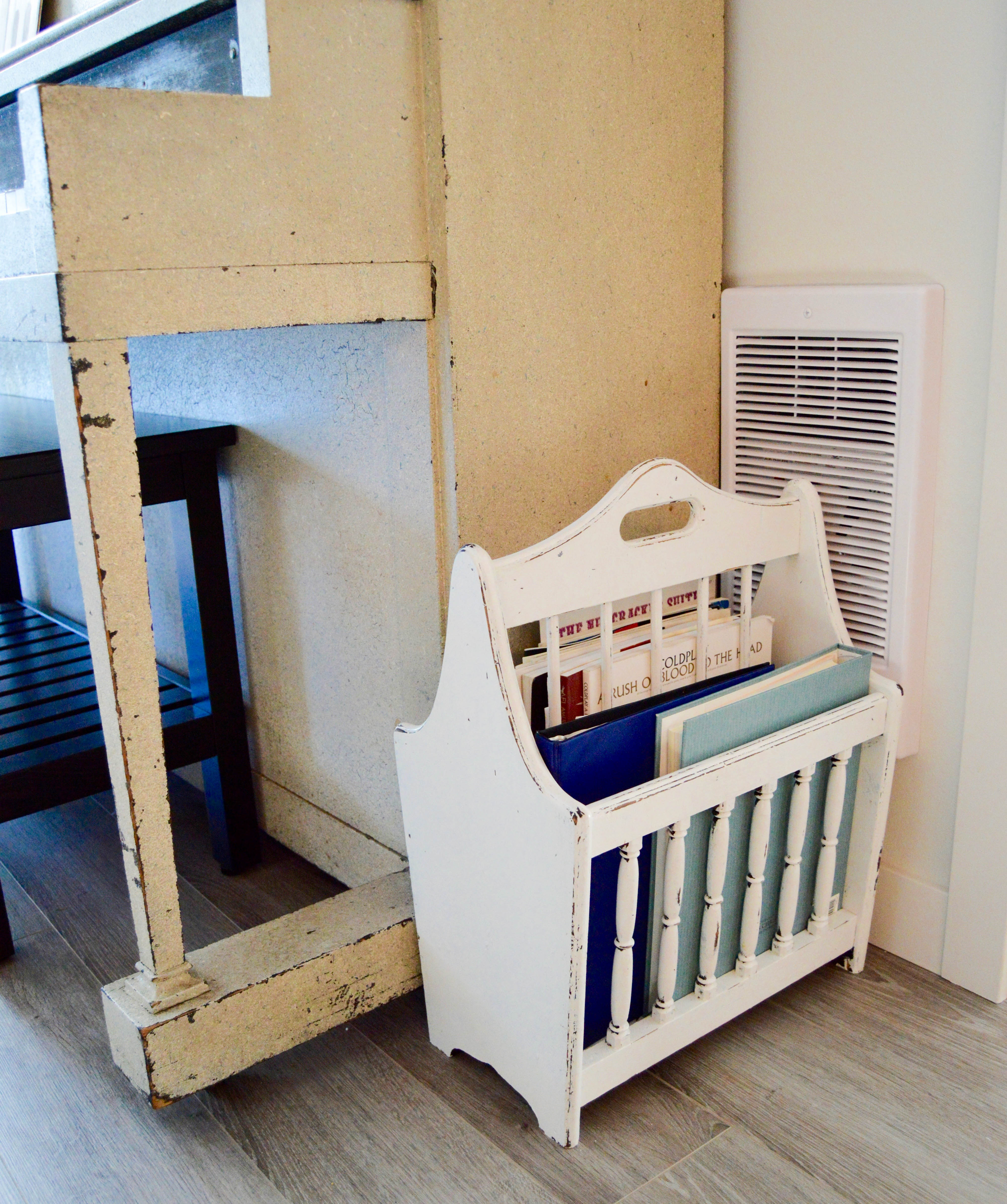 Tips for how to purge and organize your home like a pro. Organizing steps: categorizing and finding homes for things. 5 home organizing rules to live by. Music storage solution.