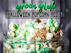 Green Glob Halloween Popcorn Recipe & Treat