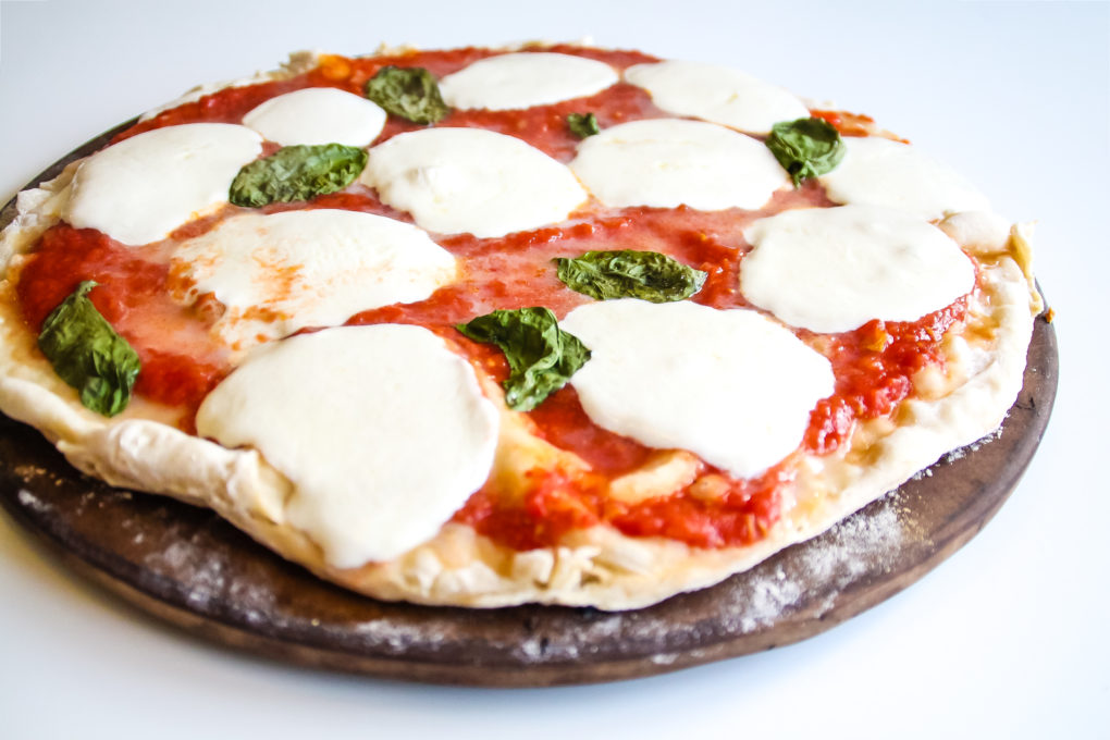 Authentic Margherita Pizza & Crust Recipe