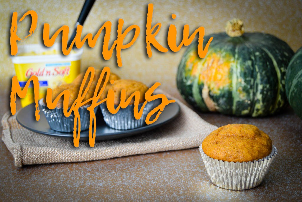 Moist Pumpkin Muffins Recipe - Ingredients list and step by step directions to bake the best moist pumpkin muffins recipe. A quick and easy breakfast for kids to take on-the-go.