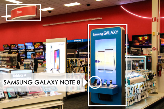 Party Planning Hack for the Holidays Samsung Galaxy Note 8 in Target