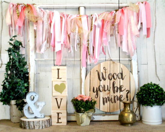 Rustic Valentines Day Decor Wood You Be Mine Wall Hanging The