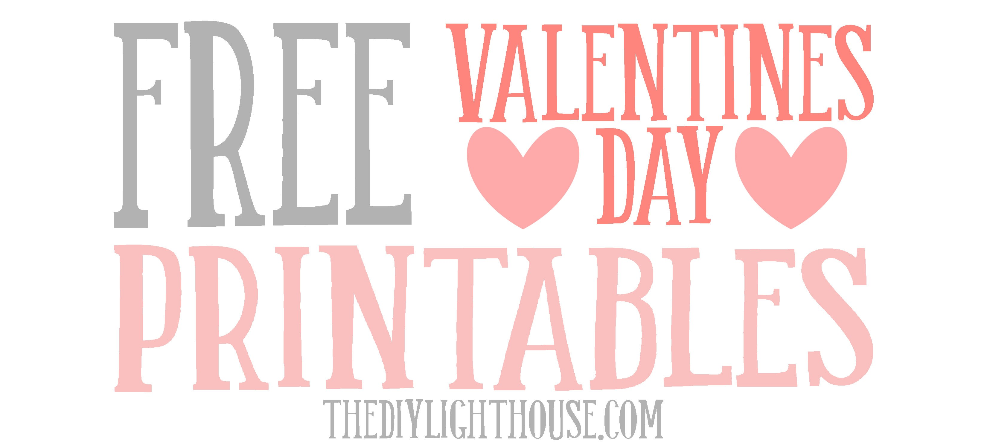 free valentines day printables you ll love the diy lighthouse