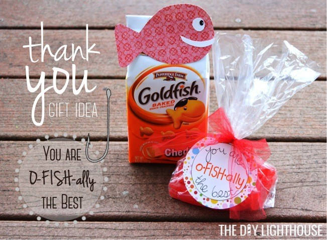 Quot You Are O Fish Ally The Best Quot Thank You Gift The Diy
