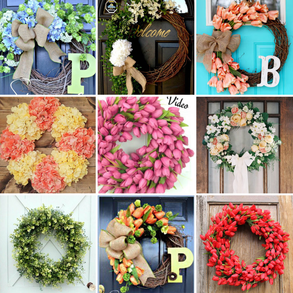 Diy spring summer wreath compilation the diy lighthouse for Diy summer wreath