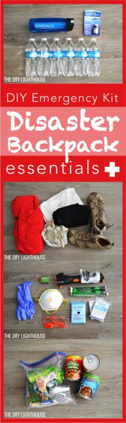 DIY Disaster Backpack: Emergency 72