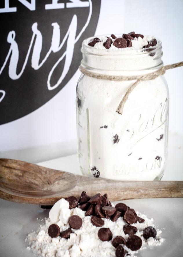 Chocolate Chip Pancake Mix In A Jar