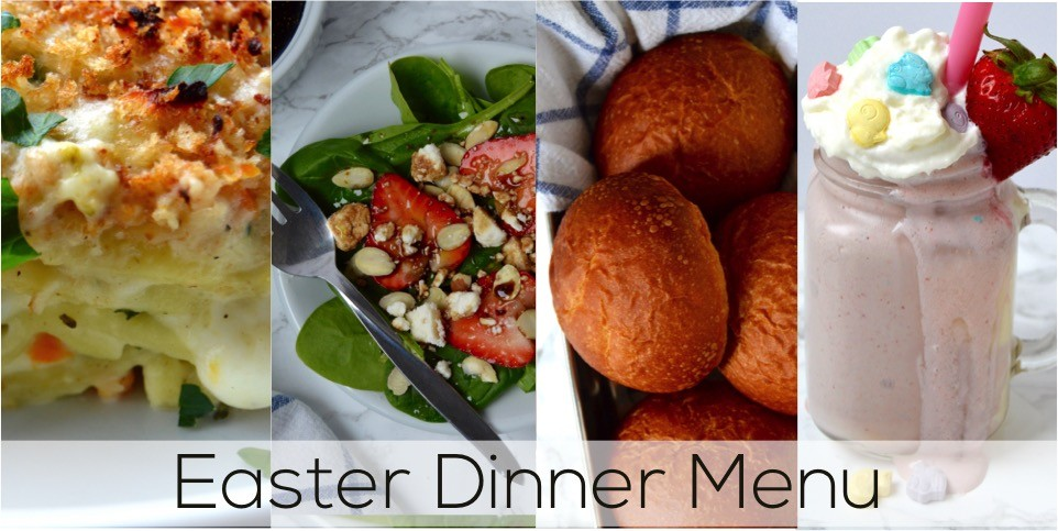 How to make an easy easter dinner the diy lighthouse nestl inspired easy easter dinner menu for the family fresh springtime dinner with vegetable forumfinder Image collections