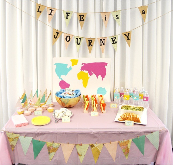 Sailing Baby Shower Food Table The Diy Lighthouse