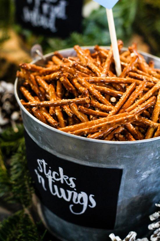 Sticks U0027n Twigs Woodland Themed Baby Shower Food