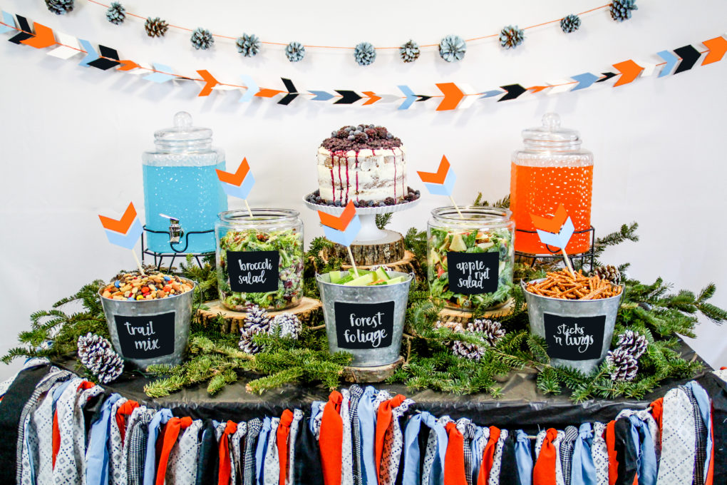 Woodland Themed Baby Shower The Diy Lighthouse