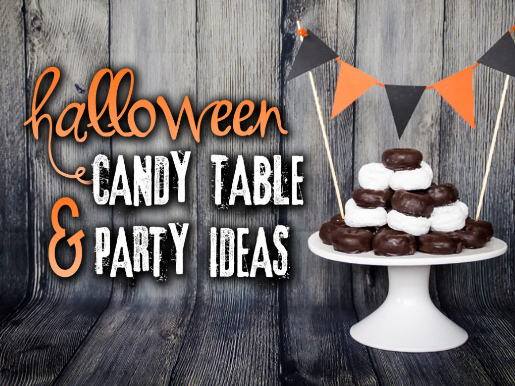 Remarkable Halloween Candy Table Party Ideas The Diy Lighthouse Home Interior And Landscaping Mentranervesignezvosmurscom