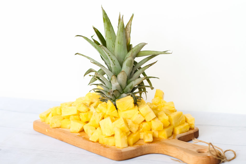 how to prepare fresh pineapple