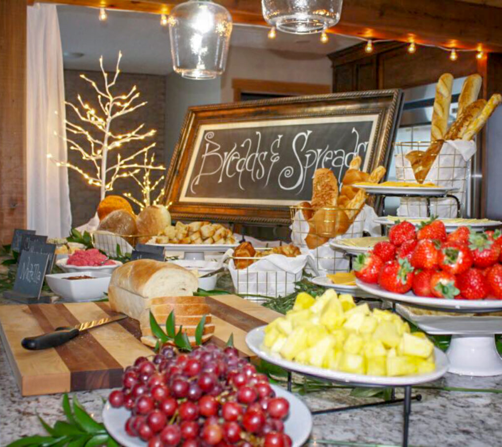 Diy Wedding Reception Food Ideas
